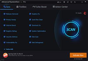 Advanced System Care Screenshot 1